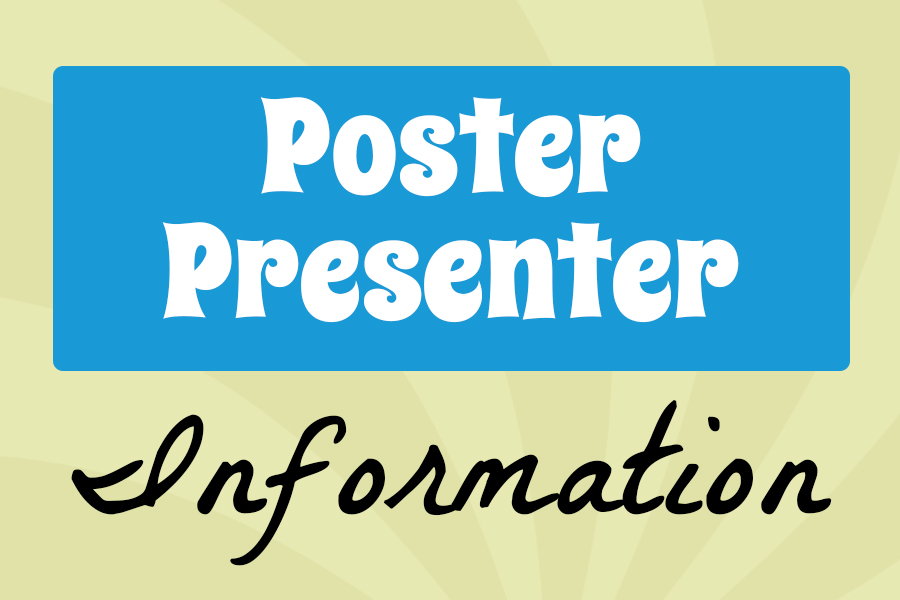 Information for 2019 Poster Presenters