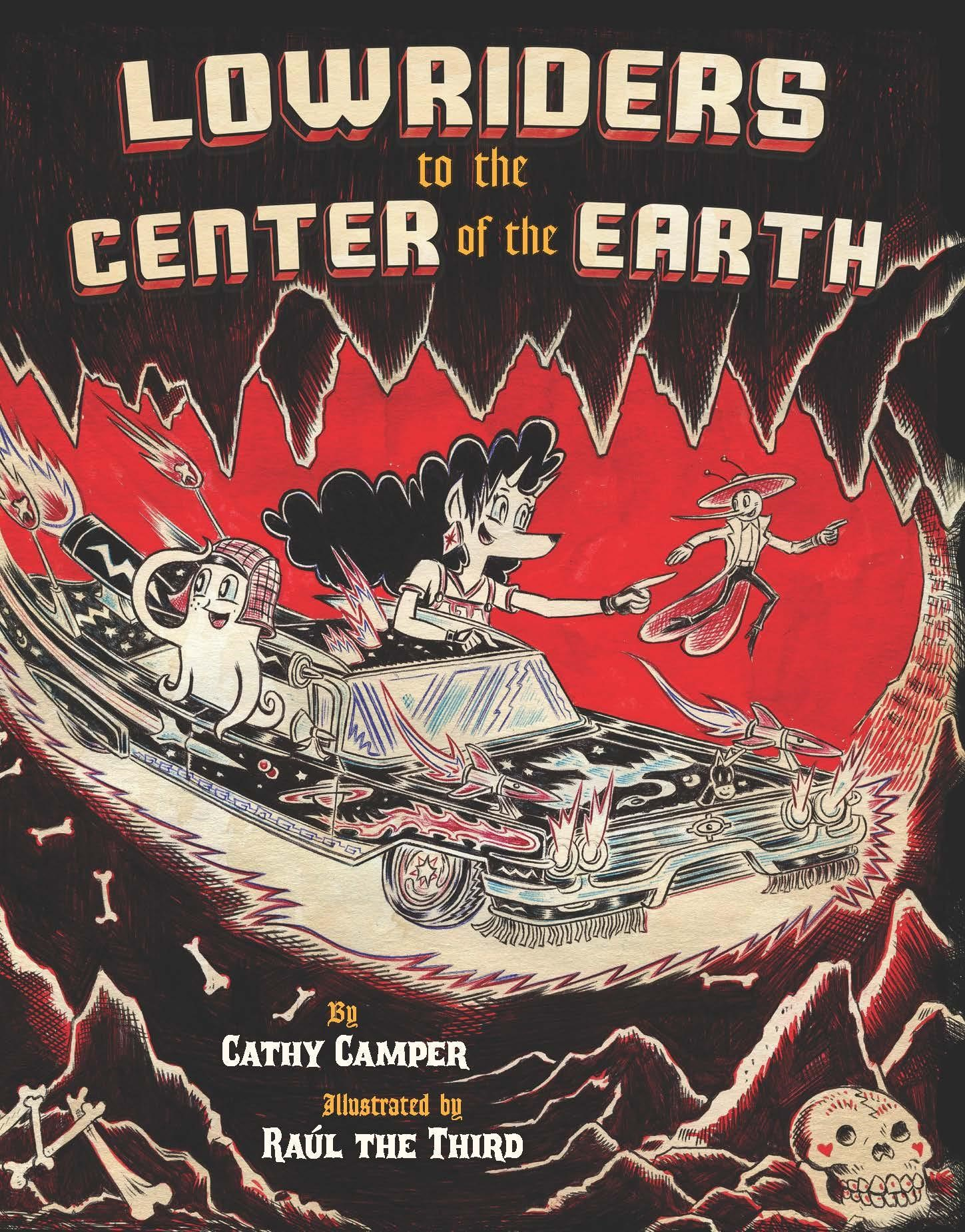 Lowriders to the Center of the Earth cover