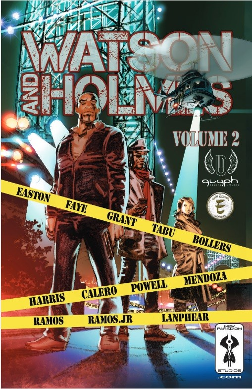 Watson and Holmes Volume 2 cover