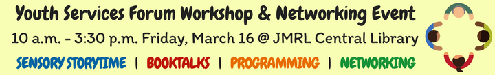 Youth Services Workshop and Networking Event planned for March 16