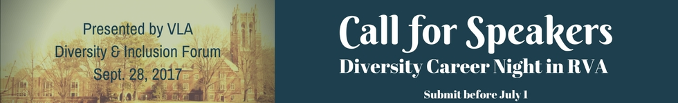 Call for Speakers Diversity Career Night by July 1, 2017