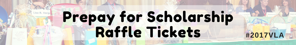 Prepay for Scholarship Raffle Tickets